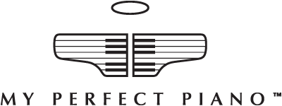 My Perfect Piano founded by Louis-Spencer Smith Retina Logo