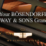 Sell Your Bosendorfer or Steinway & Sons Grand Piano by contacting My Perfect Piano