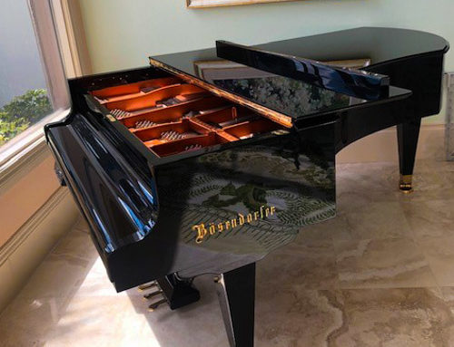 new-in-2006, one-owner BOSENDORFER Model 225 Semi Concert Grand Piano