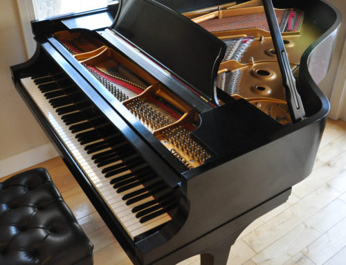 new in 2005, one-owner STEINWAY & SONS Model A Grand Piano