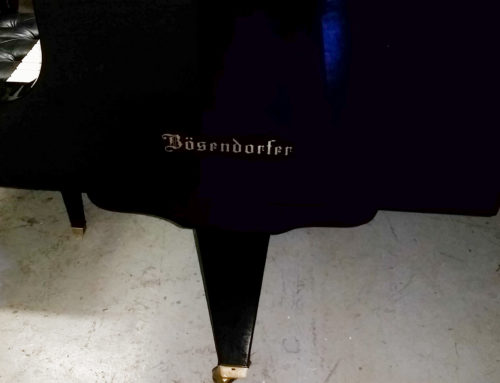 New-in-1990 BOSENDORFER 225 / 7'4″ Semi Concert Grand Piano
