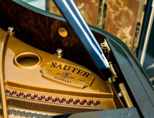 "BOSENDORFER Peer – new in 2001 SAUTER ""DELTA"" Grand Piano"