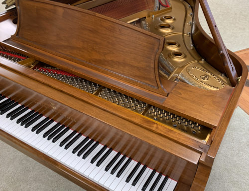 IMMACULATE, new-in-1988 STEINWAY & SONS Model L Grand Piano