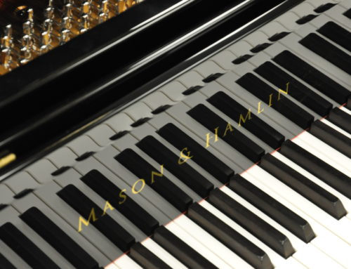 A true Steinway Model B peer: Powerful, refined, nearly un-used MASON & HAMLIN Model BB semi concert grand piano