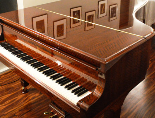 Only one in North America – HAMBURG STEINWAY & SONS Model B semi concert grand piano