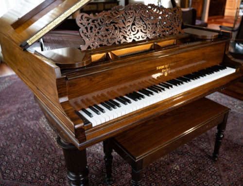 new in 2004, STEINWAY & SONS Model L – LIMITED EDITION Grand Piano