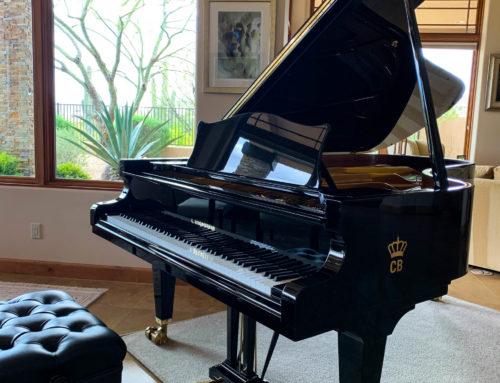 One-owner, showroom perfect BECHSTEIN 7'7″ Semi Concert Grand Piano, Bosendorfer Peer