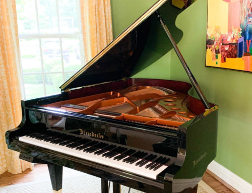 in St. Louis, Missouri, new in 2006 BOSENDORFER 185 Grand Piano