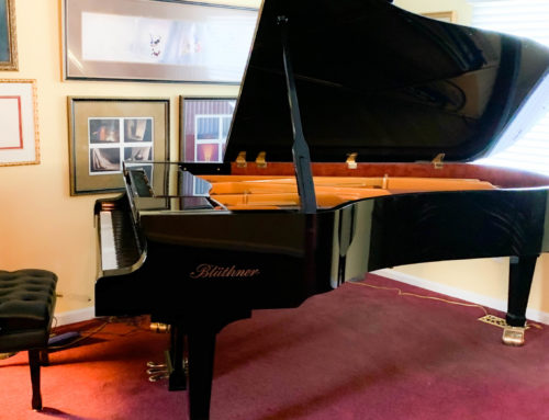 in Newark, New Jersey – 2008 BLUTHNER Model 2 Semi Concert Grand Piano