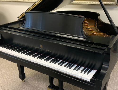 in Los Angeles – new in 1999 STEINWAY & SONS Model M Baby Grand