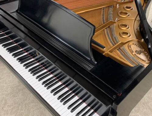 "new in 2000 – STEINWAY & SONS Model L ""Living Room Concert Grand Piano"""