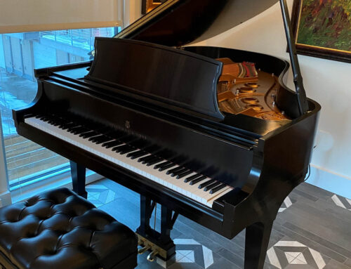 "new in 1999 – STEINWAY & SONS Model L ""Living Room Grand Piano"""