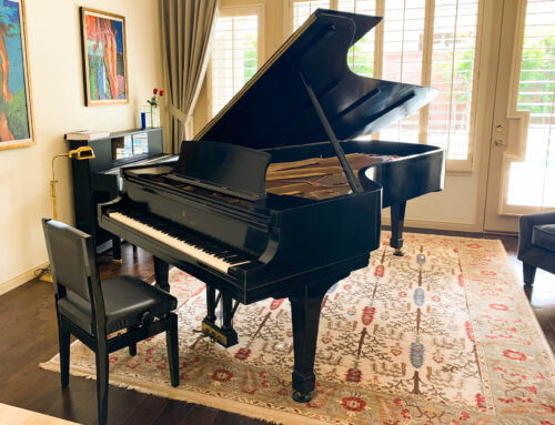 SOLD – please inquire about similar opportunity – One-owner STEINWAY & SONS Model D Concert Grand Piano