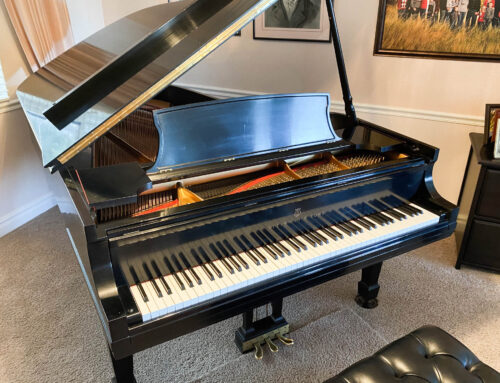 New in 1989 – STEINWAY & SONS Model B Grand Piano