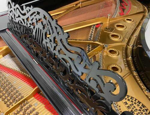 Breathtaking 2015 custom-restored STEINWAY & SONS Model B Grand Piano