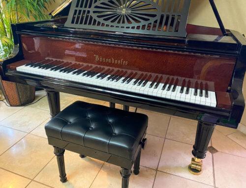 """Limited Edition – BOSENDORFER Model 200 """"MILLENNIUM II"""" Grand Piano"""