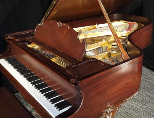 "2020-restored STEINWAY & SONS .  .  .  .   ""Louis XV"" Artcase Piano"
