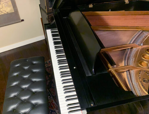 PRICE REDUCTION – new in 1993 STEINWAY & SONS Model M 5'7″ Grand Piano