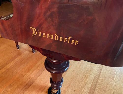 """new-in-2001 BOSENDORFER Model 214 """"STRAUSS"""" Grand Piano"""