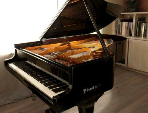 SOLD – Showroom-perfect BOSENDORFER Model 200 Grand Piano