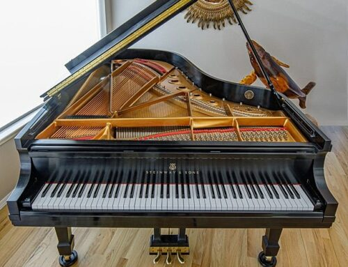 SOLD – please inquire about similar opportunities – nearly un-used STEINWAY & SONS Model B
