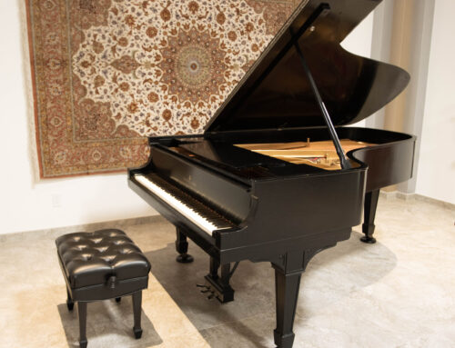 SOLD – Rare New York STEINWAY & SONS Model C Semi Concert Grand Piano